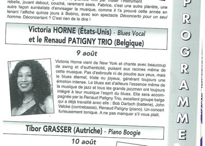Victoria Sings Boogie Woogie Concert With Renaud Pitagny