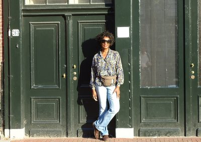 This Photo Was Taken In Front Of Anne Frannk's House (Haus) In Amsterdam, Holland
